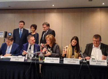 obraz dla wpisu: Europejscy partnerzy społeczni podpisali program wspólnych działań