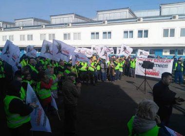 obraz dla wpisu: Strajk w Airbus Poland S.A.