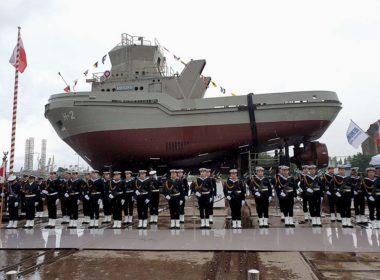 obraz dla wpisu: Kolejny holownik dla Marynarki Wojennej zwodowany