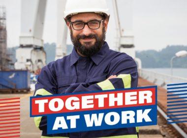 obraz dla wpisu: Together at work – Kampania pracowników