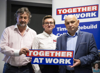 obraz dla wpisu: Inauguracja kampanii Together at work