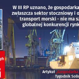 Gospodarka morska_pod newsy polityka,gospodarka