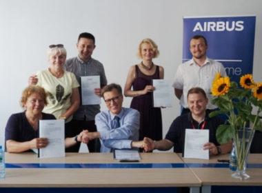 """obraz dla wpisu: Wielki sukces """"S"""" w Airbus Poland!"""